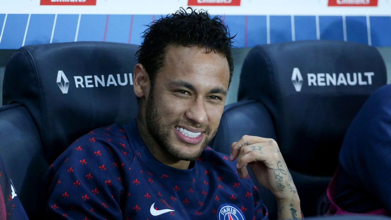 Neymar is short on match fitness and only played 65 minutes in PSG's 2-0 win against Lille in Ligue 1 on Friday.