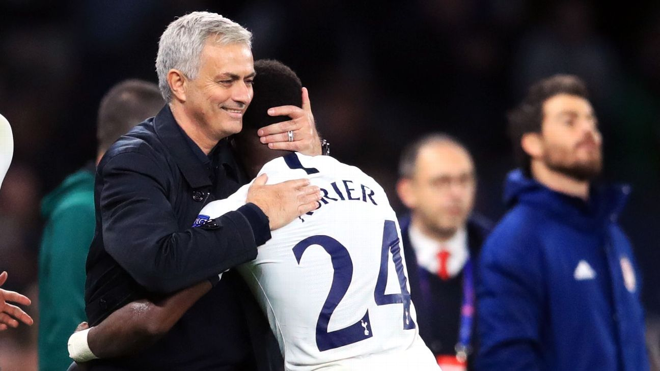 Serge Aurier demonstrated his enduring class, much to the delight of Jose Mourinho.