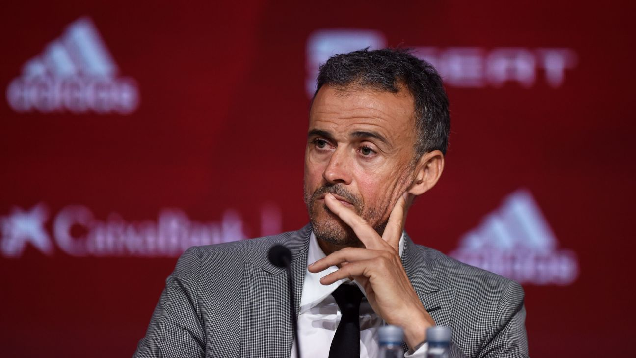 Luis Enrique returned as Spain boss earlier this month, having stepped down due to personal reasons in June.