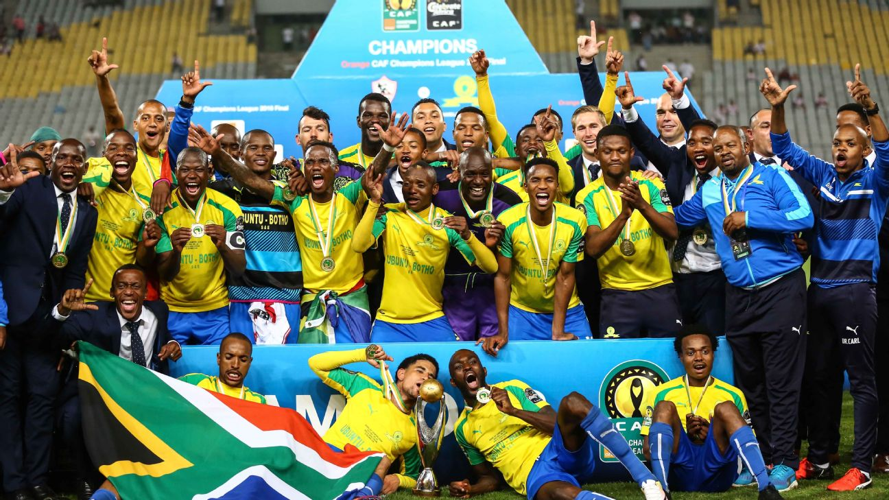 Sundowns beat Egyptian giants Zamalek in 2016 to win their only CAF Champions League title to date.