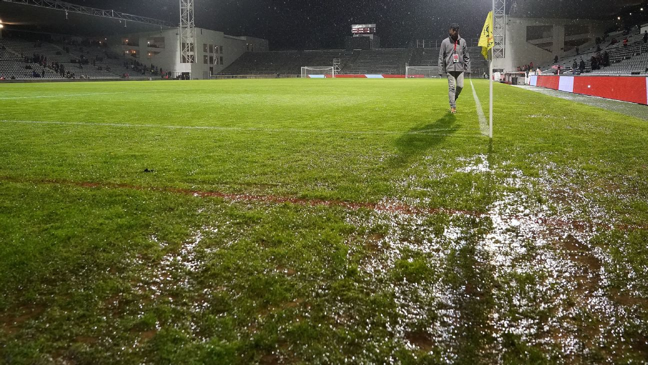 PSG game at AS Monaco called off due to torrential rain