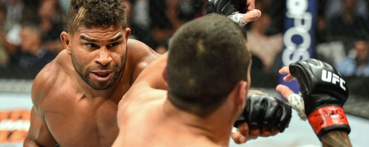 Alistair Overeem Stats News Bio Espn