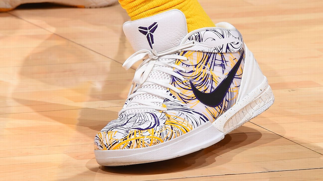 The decade-old Kobe Bryant sneaker today's NBA players can't stop ...