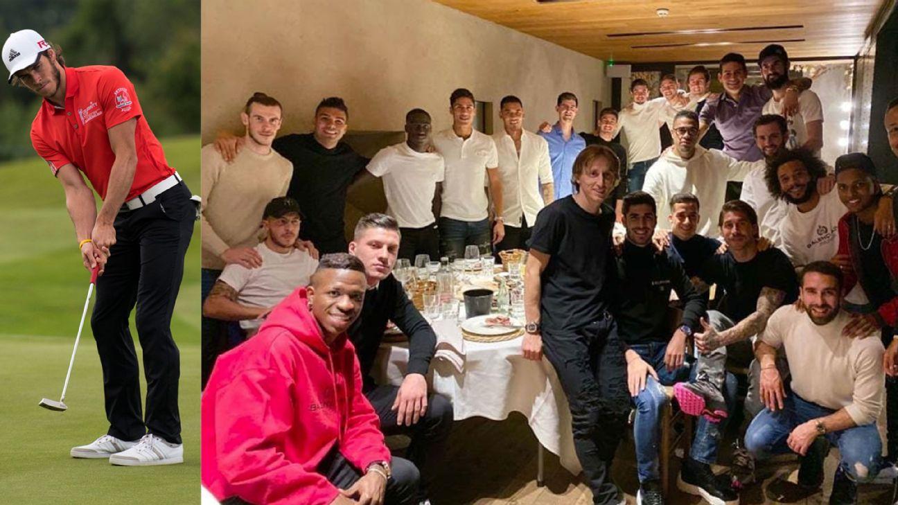 Bale golf dinner split