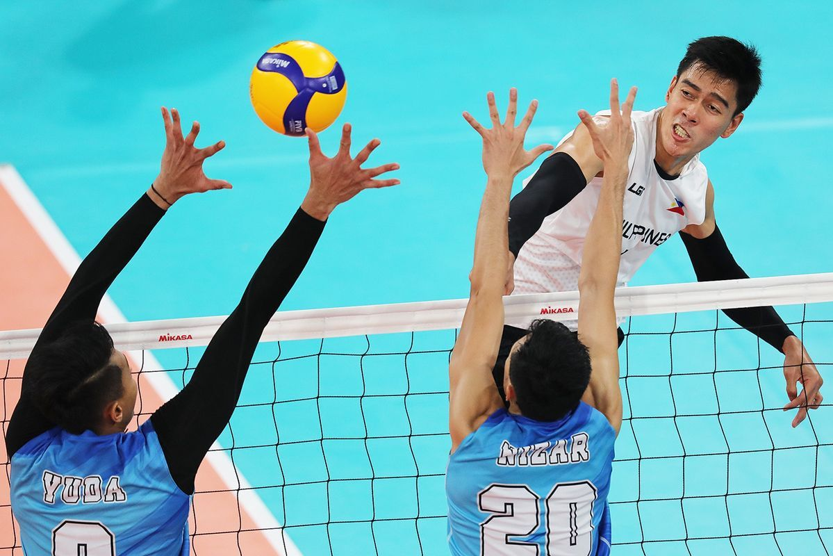 Philippines Men S Volleyball Team Falls In Three Sets To Indonesia