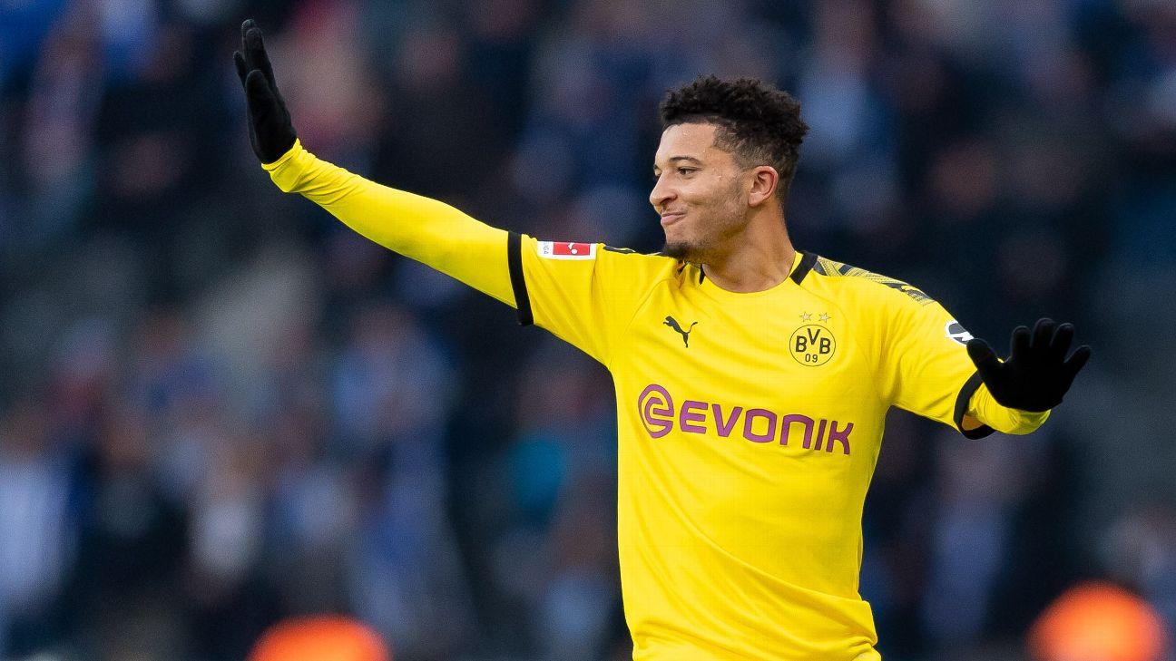 Dortmund demand ¬130m for Man United target Sancho