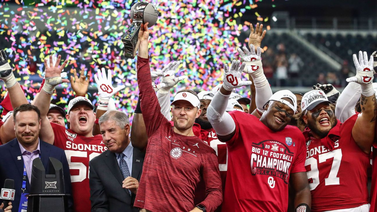 College Football Playoff tracker: Oklahomas Big 12 title gives Sooners a
