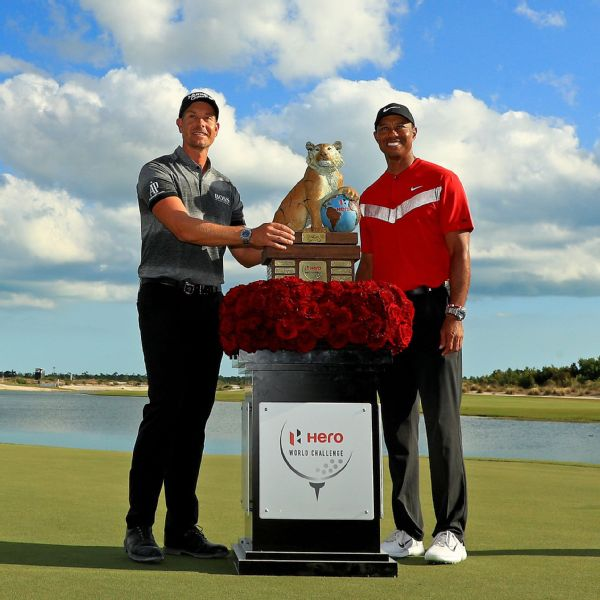 Stenson fends off Tiger, Rahm to win Hero