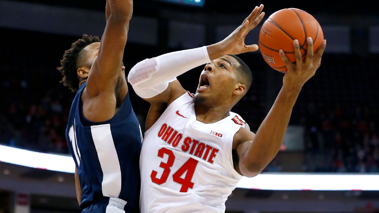 College Basketball Power Rankings Ohio State Maryland And