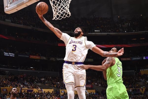 Davis: Lakers trio encouraged thrust toward 50