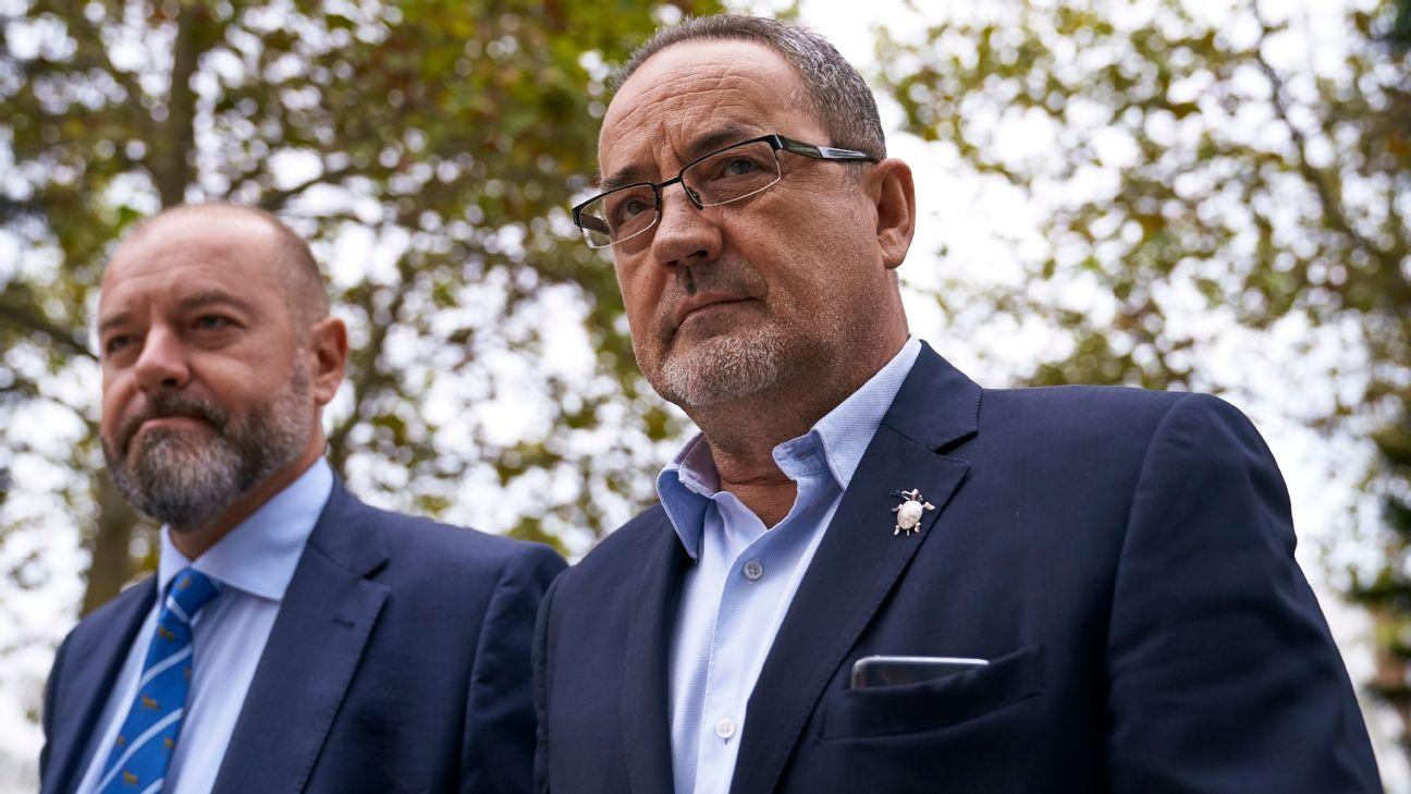 Former Real Zaragoza president Agapito Iglesias