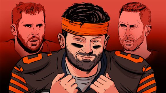Mayfield vs. ... everyone? An illustrated guide to Baker's beefs