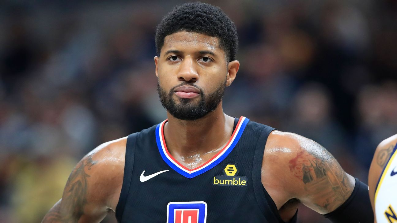 Clips' Paul George hints at tell-all of Indiana exit: 'I'm not the one to  boo' - ABC7 Los Angeles