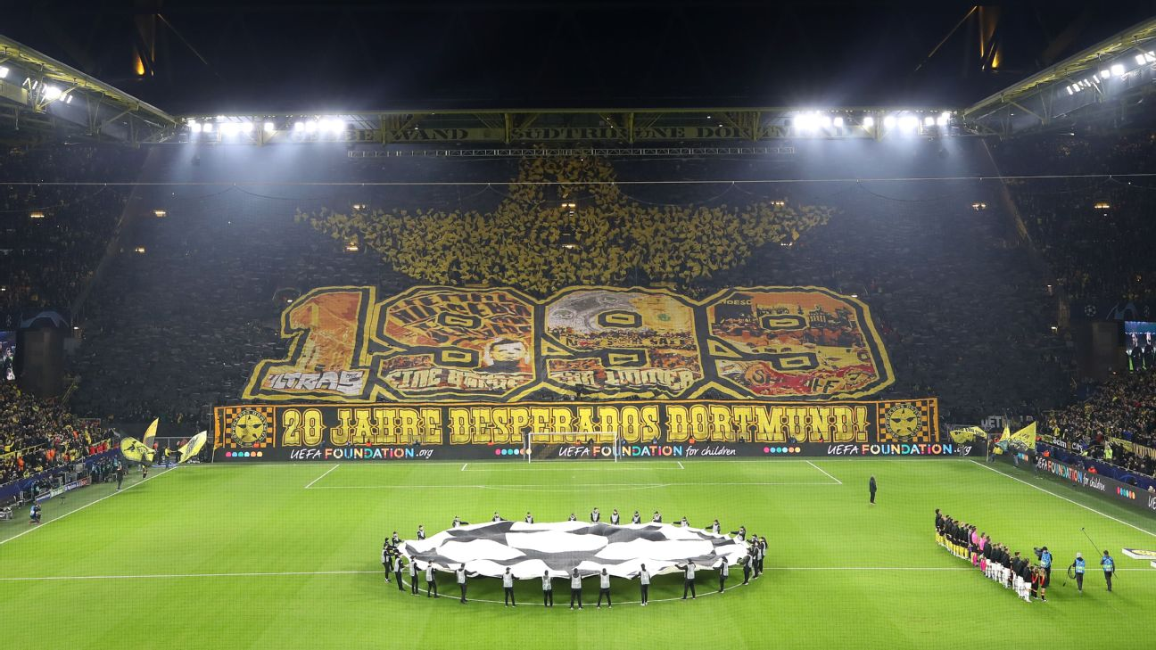 Champions League Tifos European Soccer S Most Jaw Dropping Fan Banners Of The Season So Far