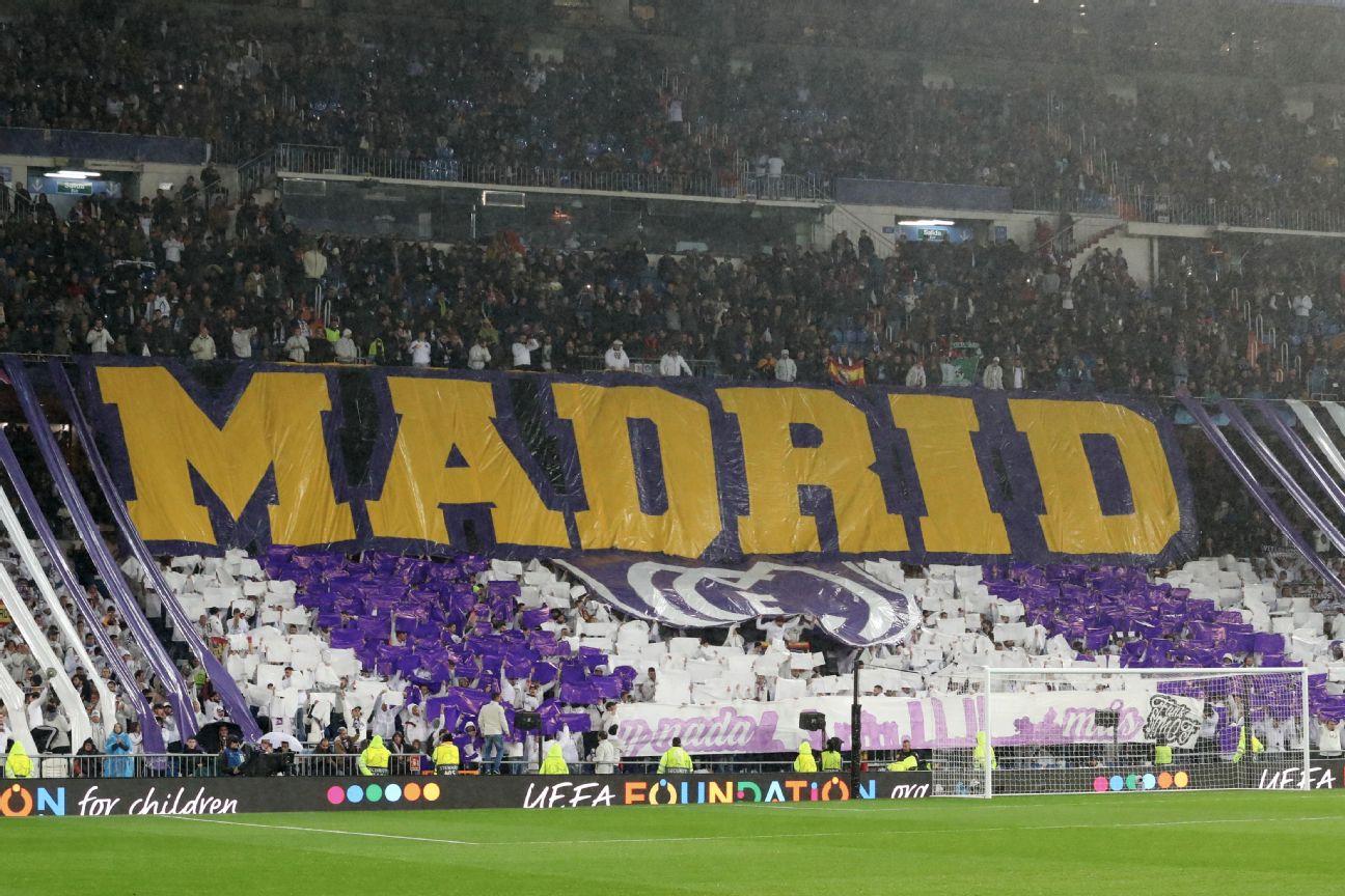 Champions League tifos: European soccer