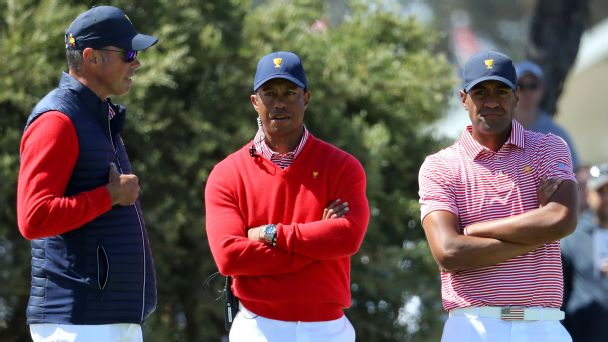 Looks like the U.S. team needs Tiger the player now more than ever