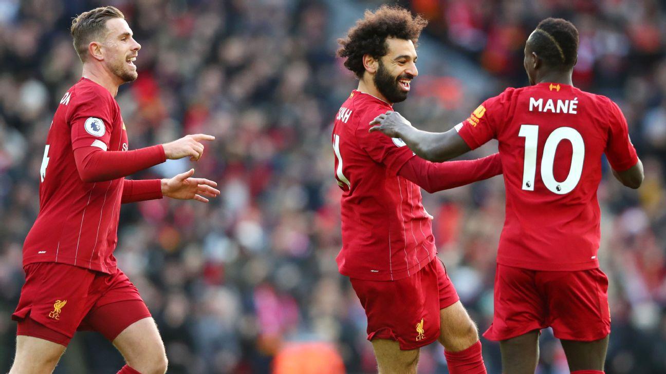 Salah 9/10 as Liverpool keep rolling atop Premier League with win vs. Watford