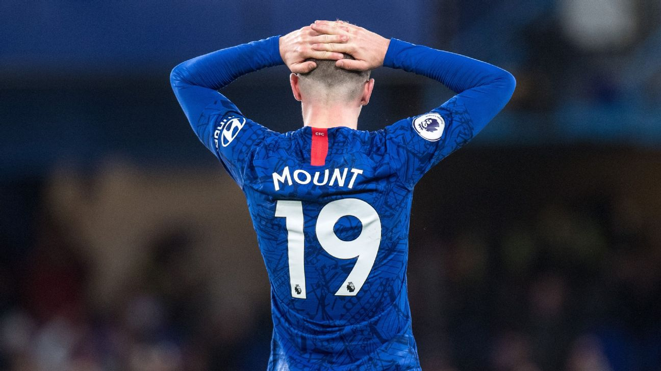 Mount 4/10, Pulisic 5/10 as Chelsea shockingly lose vs. Bournemouth