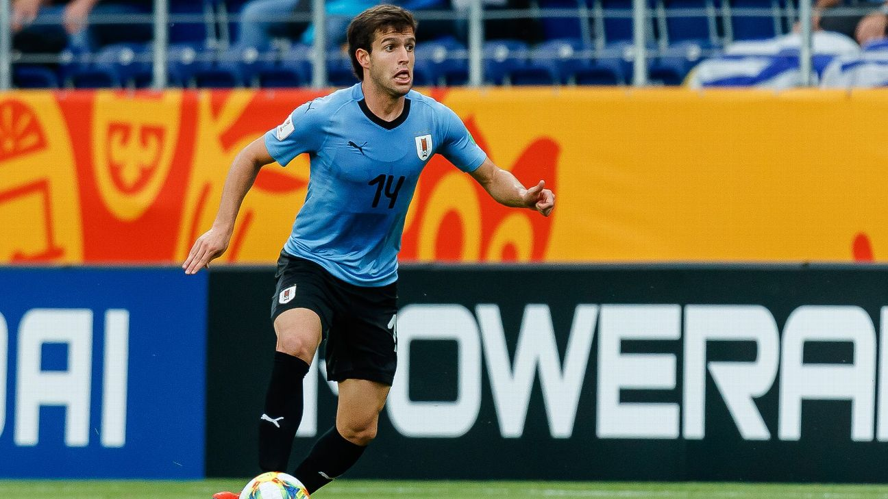 Francisco Ginella of Uruguay is set to join LAFC, according to ESPN FC sources.