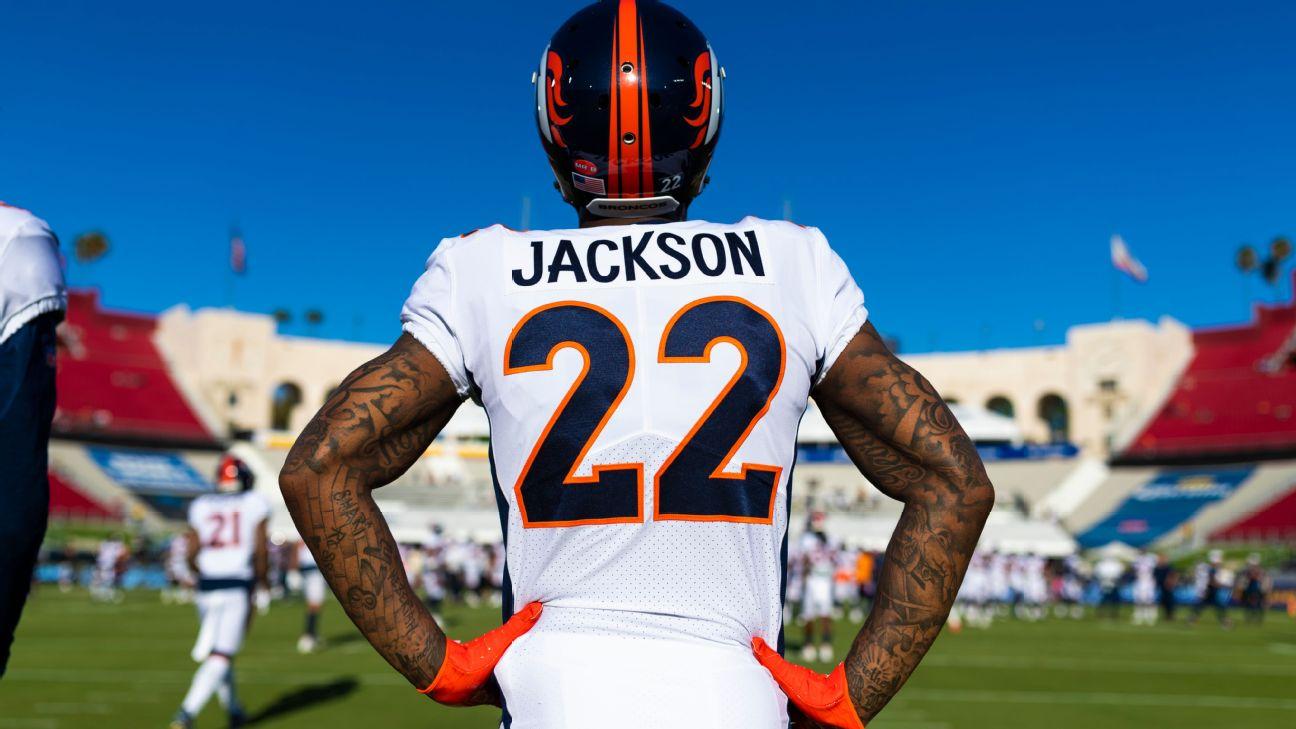 Broncos safety Kareem Jackson suspended for final 2 games