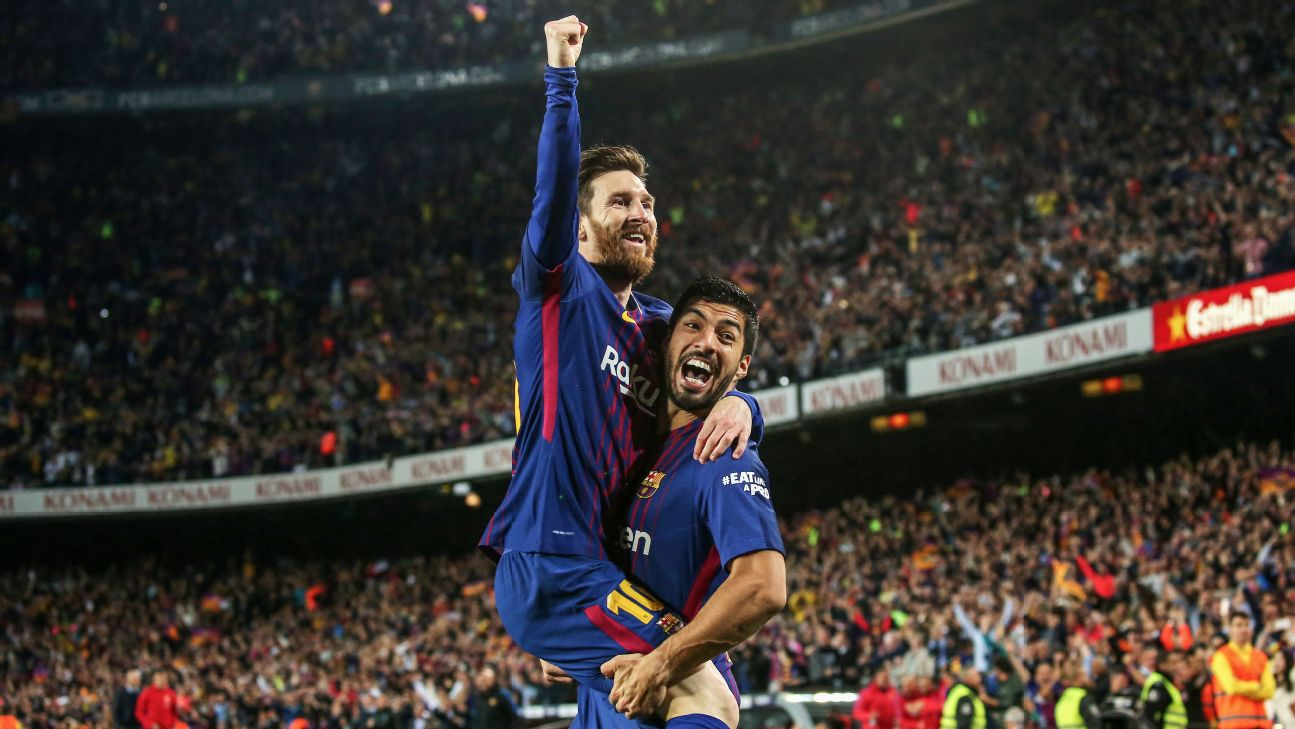 Messi and Suarez have built a brilliant partnership, and nowhere has that been more evident than in recent clashes with rivals Real Madrid.