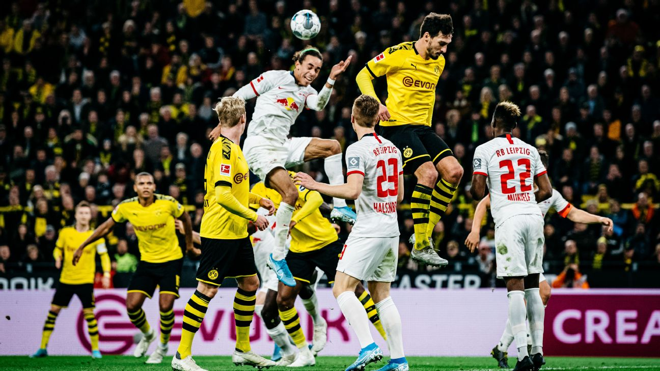 RB Leipzig and Borussia Dortmund played to a thrilling 3-3 draw in the Bundesliga on Tuesday.
