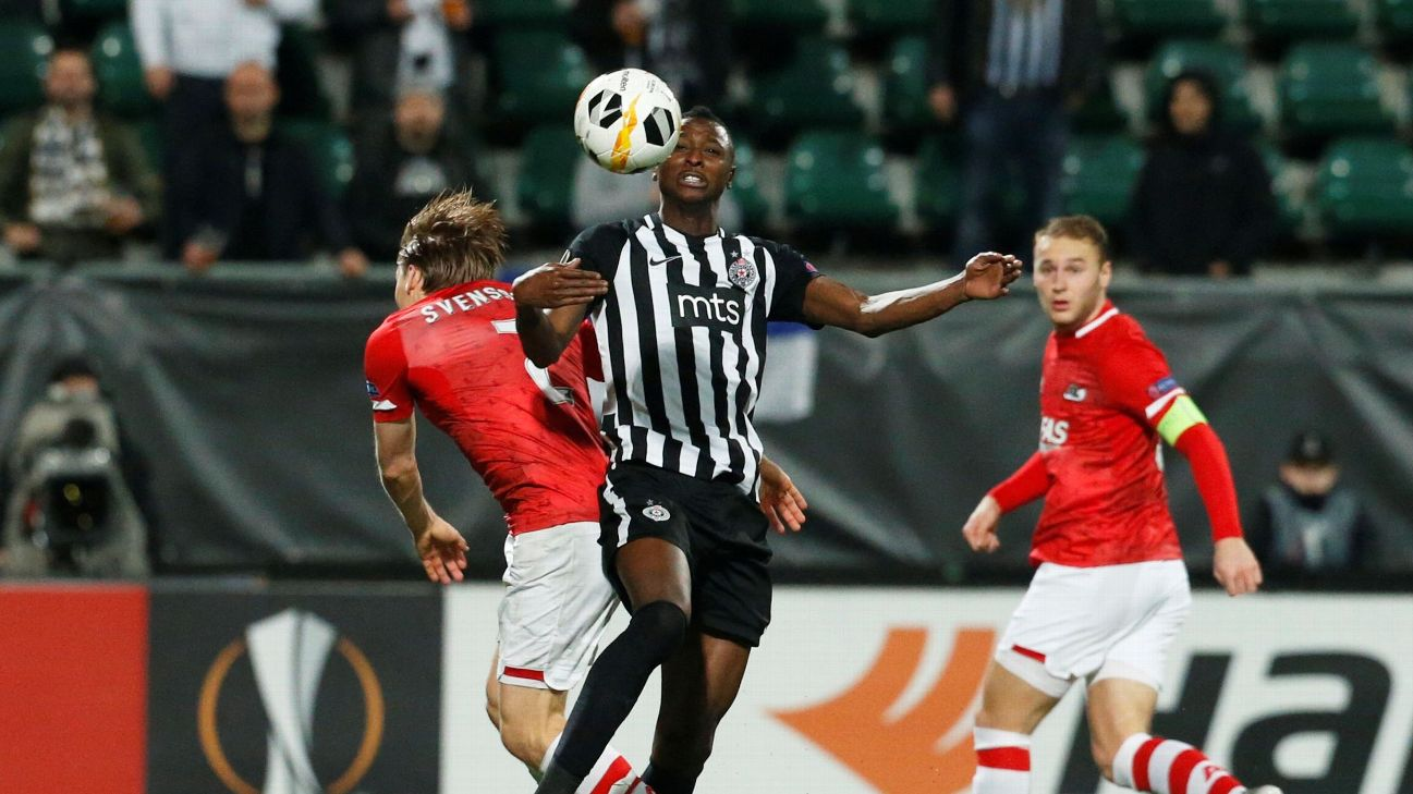 Sadiq Umar is keen to establish himself at Partizan after stints at Torino, NAC Breda, Rangers and Perugia.