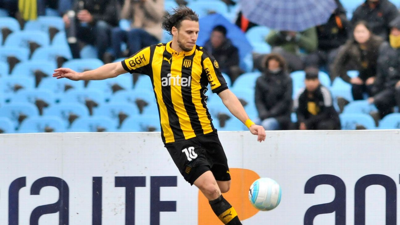 Diego Forlan played for Penarol between 2015 and 2016, winning the Uruguayan Primera Division title.