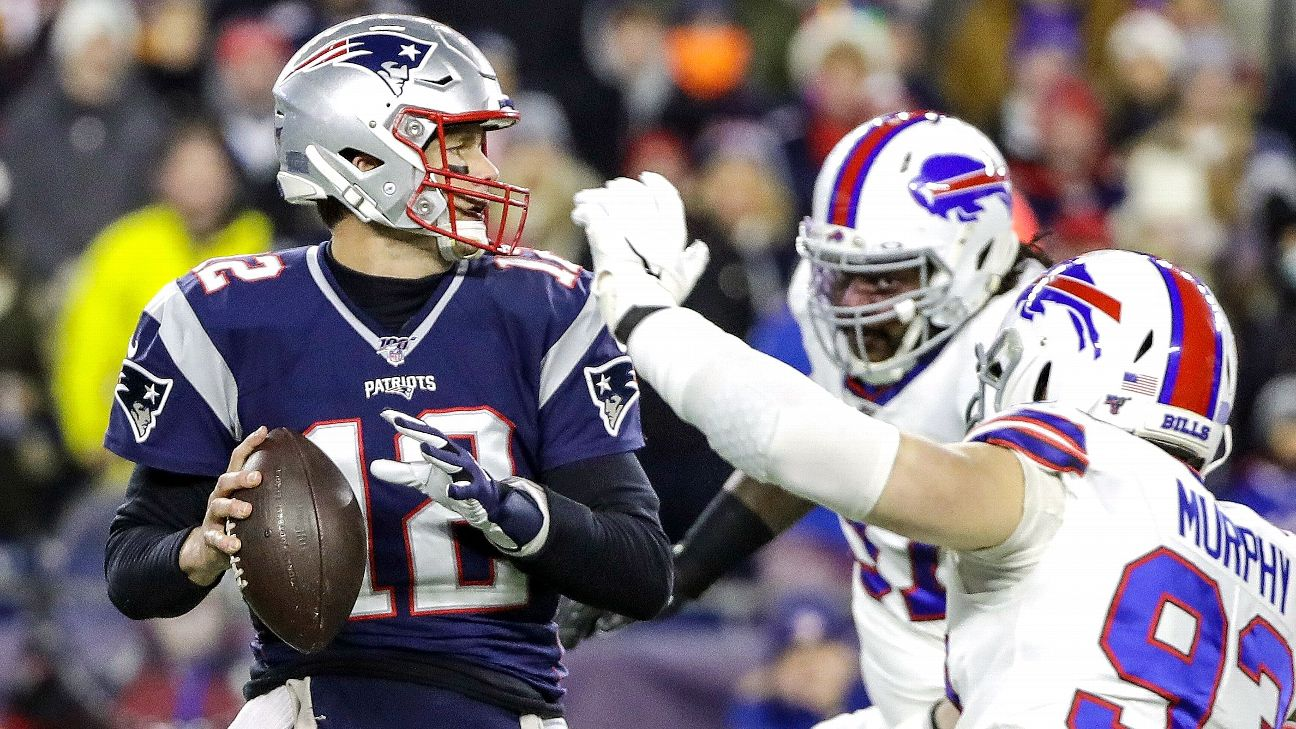 2019 NFL playoff picture: AFC, NFC standings, seeds ...