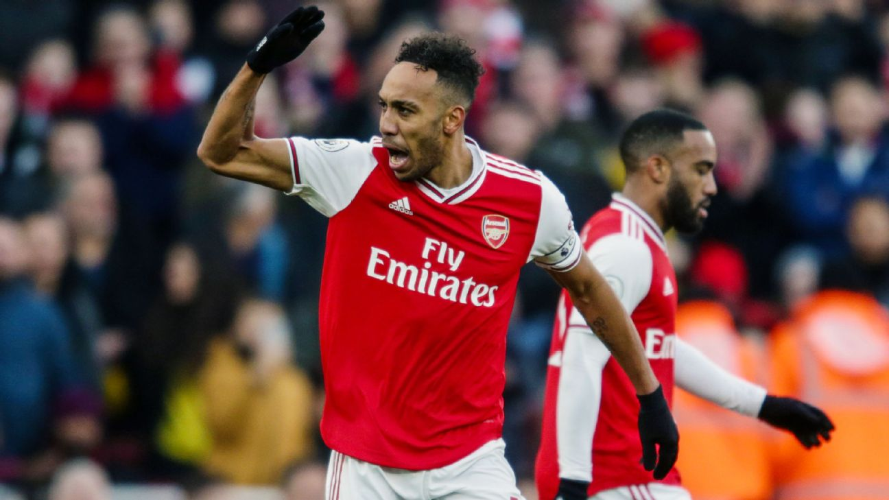 Arsenal captain Aubameyang on transfer talk: I love this club - ENGLISH FOOTBALL 1