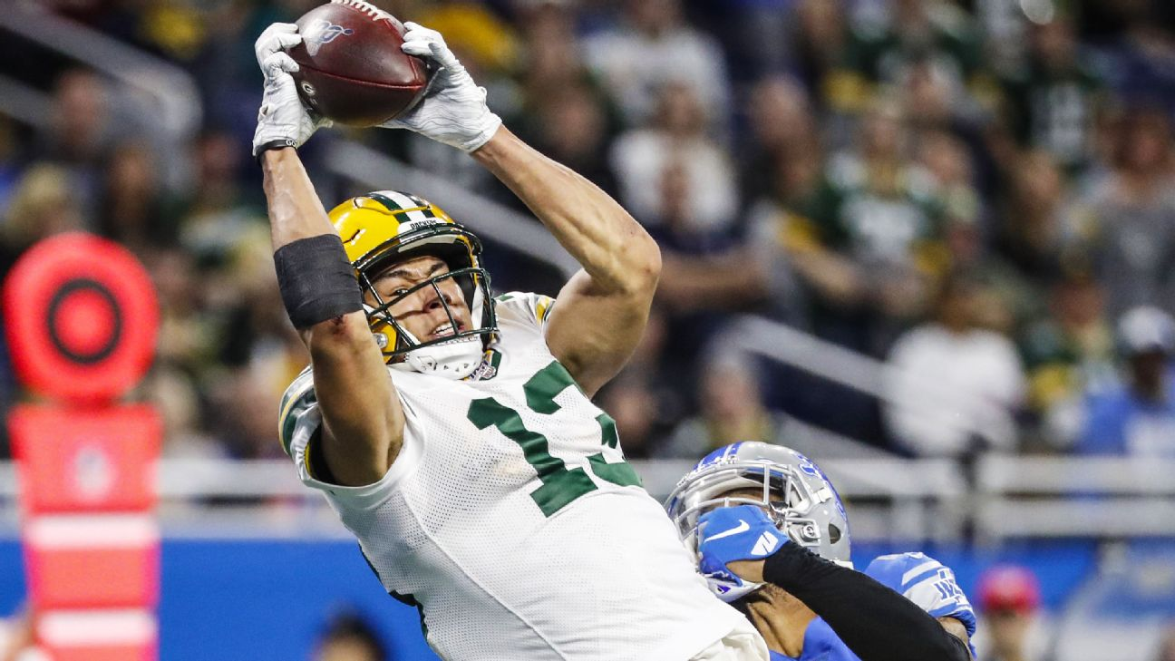 Source Green Bay Packers Wr Allen Lazard Out Indefinitely After Core Muscle Surgery