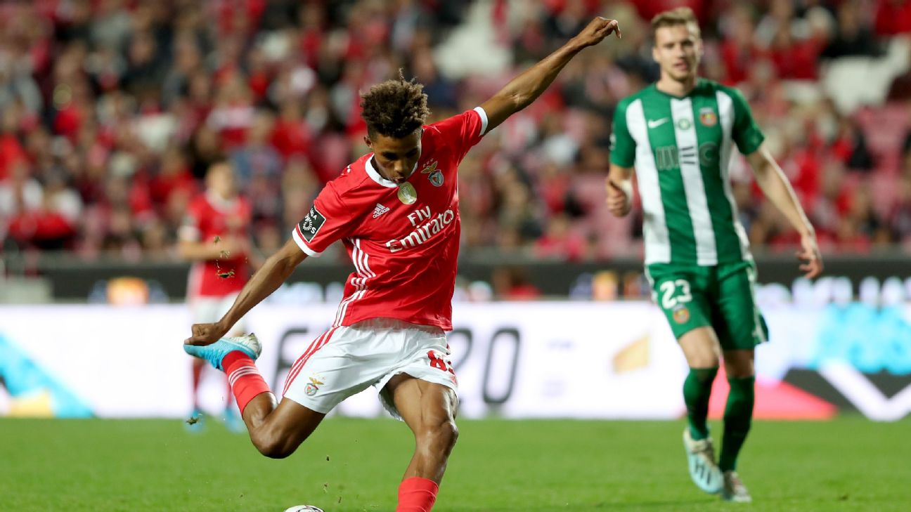 The 20-year-old has struggled to hold down a place at Benfica and it is reported the club are interested in moving him on.