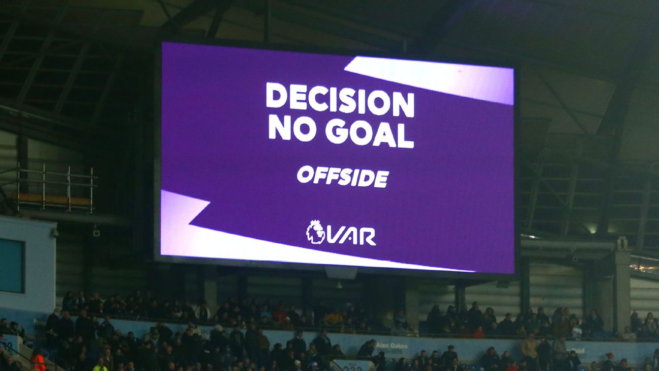 VAR makes Premier League less enjoyable, says fan poll - ENGLISH FOOTBALL 1