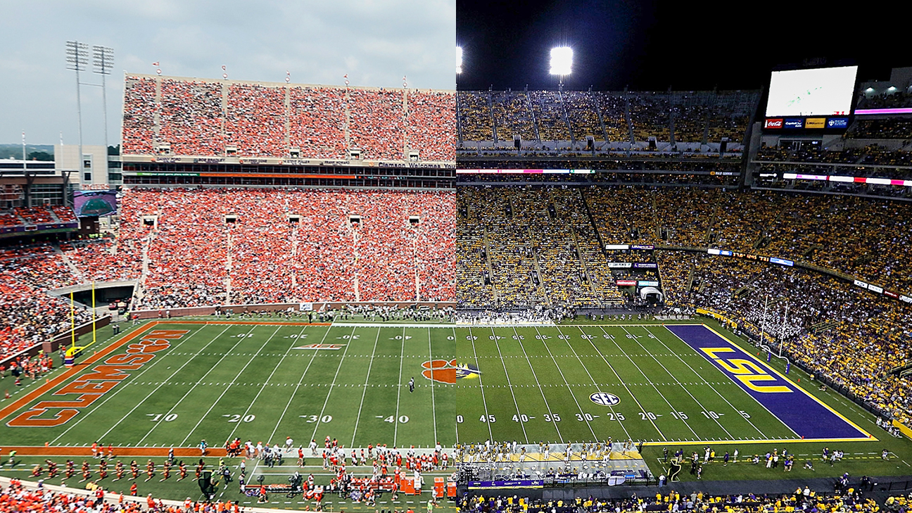Image result for LSU vs CLEMSON