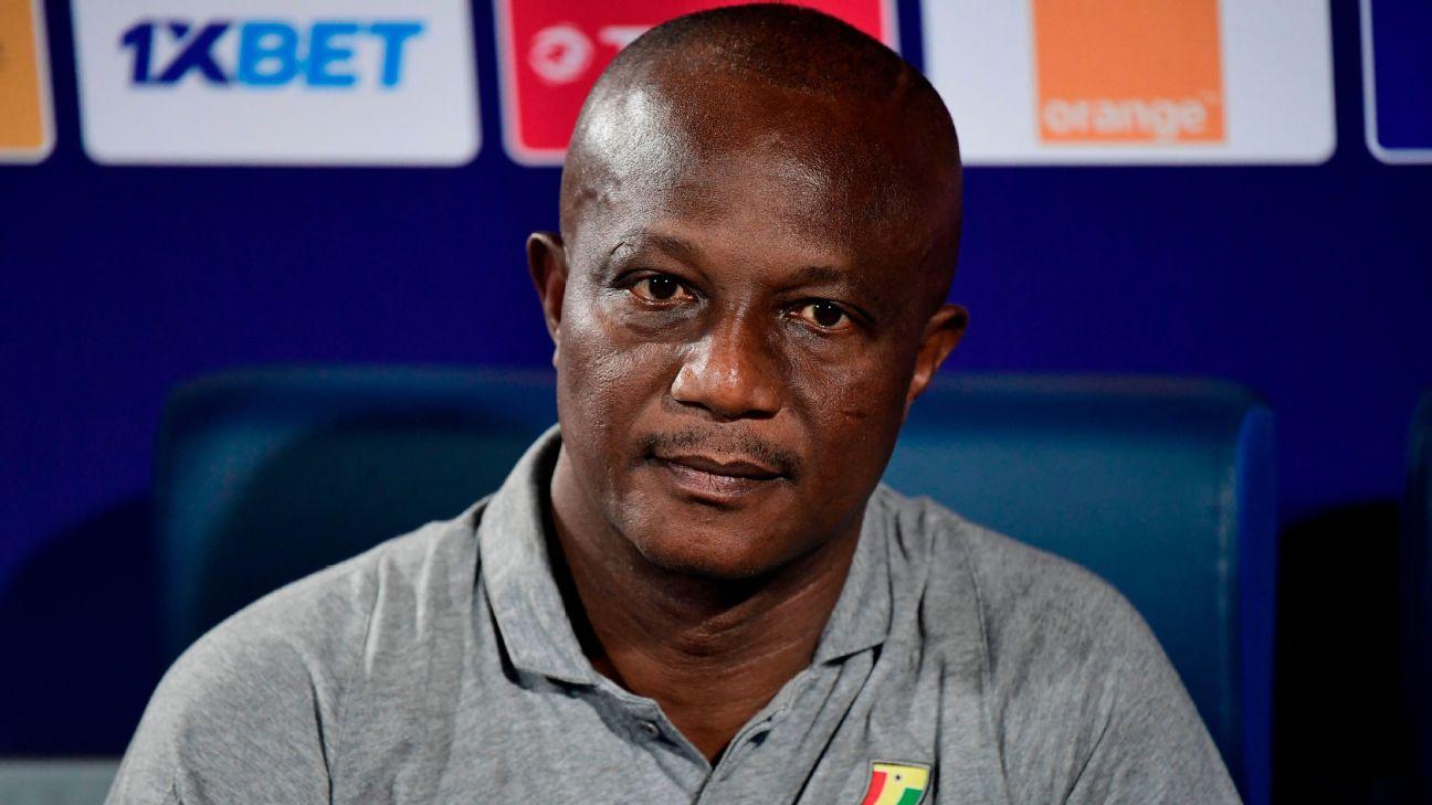 Ghana's coach James Kwesi Appiah