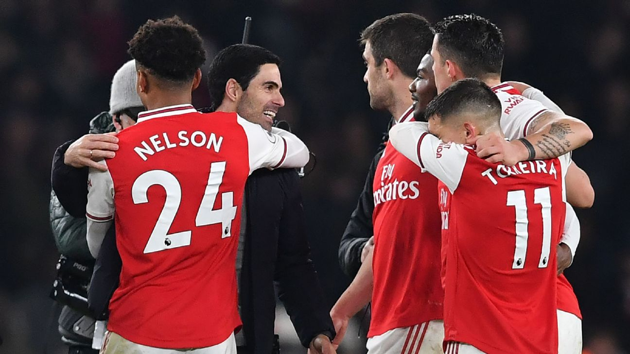 How Arteta restored in the Arsenal squad after a season of crisis - ENGLISH FOOTBALL 1