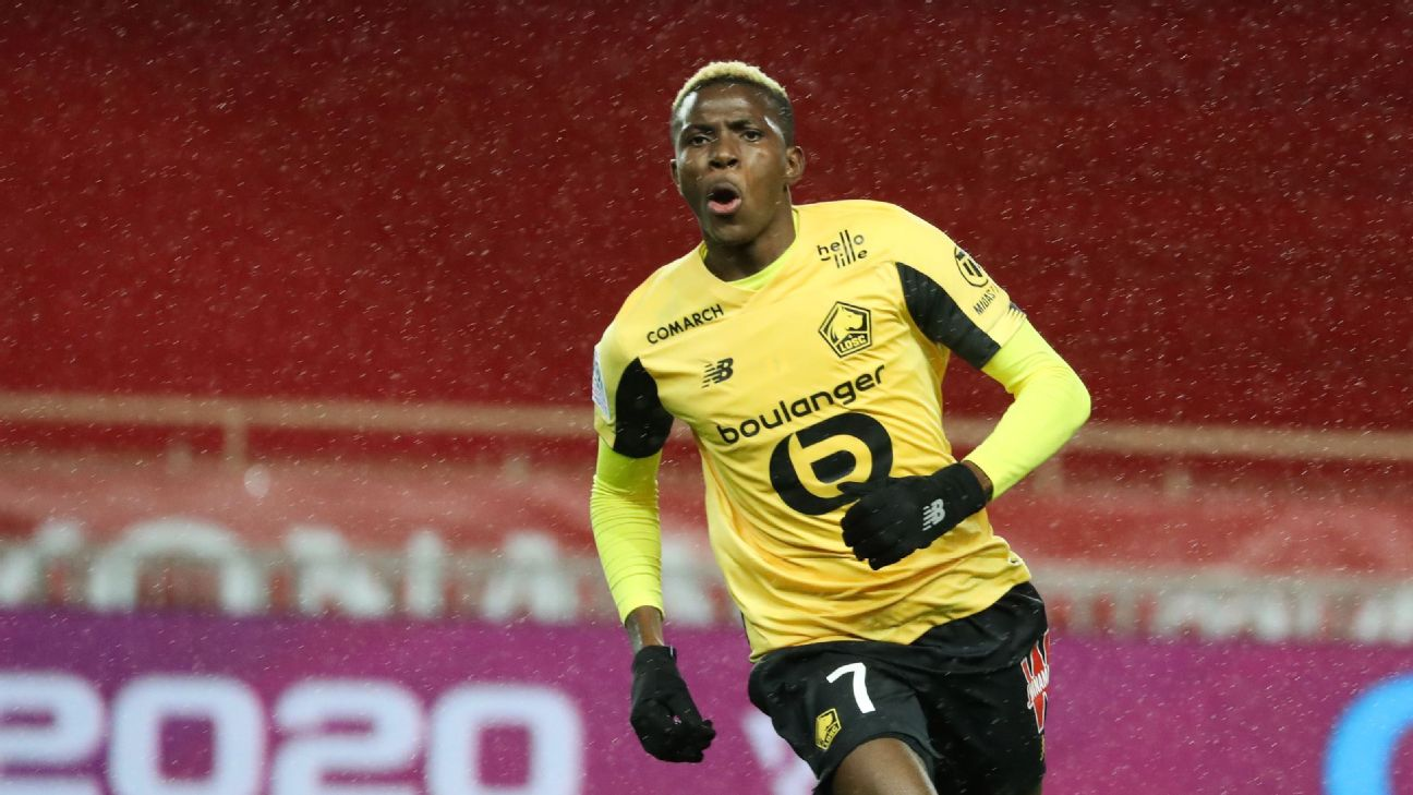 Victor Osimhen was the stand-out Nigerian in Europe for most of 2019.