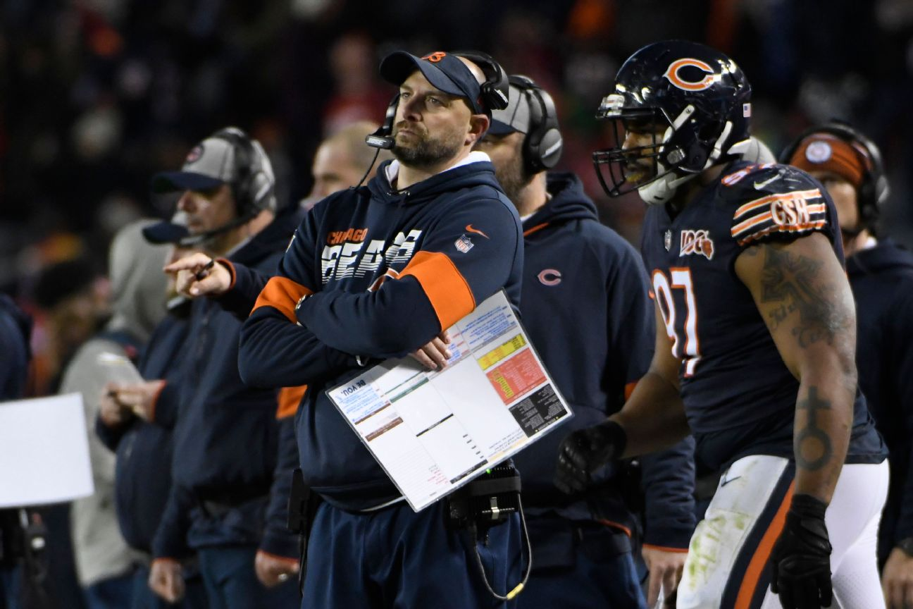 Nagy urges Bears to 'wake up,' have some pride