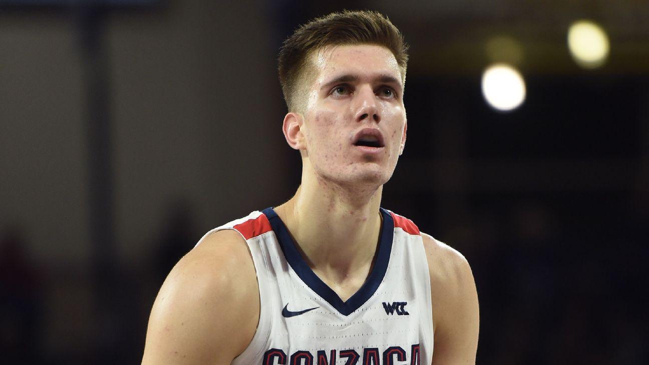 Gonzaga center Filip Petrusev to sign pro deal in Serbia