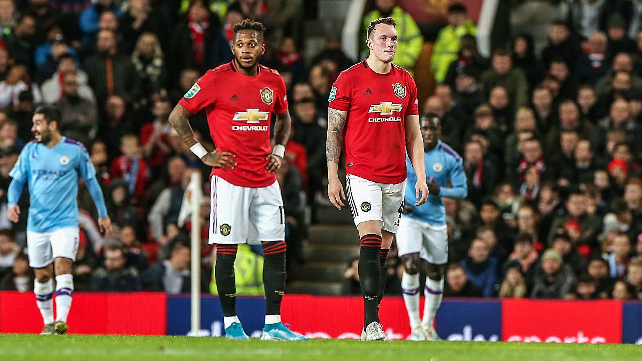 Nearly a decade of mismanagement was laid bare in Manchester United's Carabao Cup loss to City.