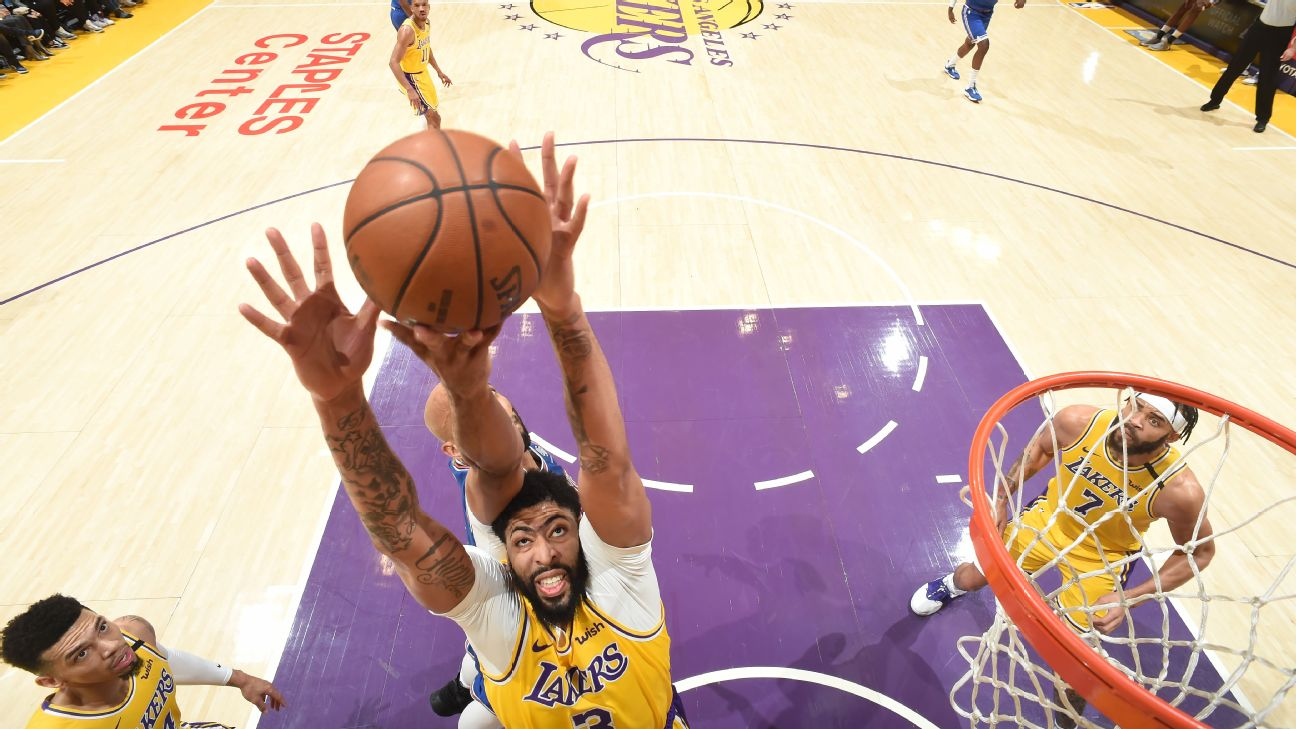 Lakers Anthony Davis Ruled Out Vs Mavs As Quick 2 Game