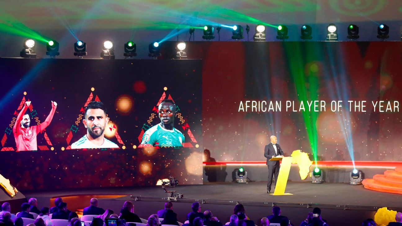 No Nigerian came close to being in line for the Men's Player of the Year at the CAF Awards in Egypt.