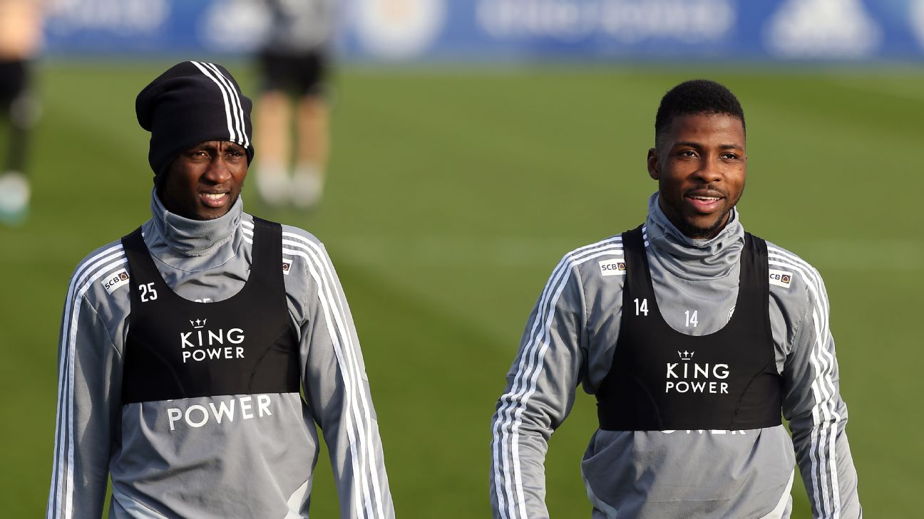 Nigeria duo Wilfred Ndidi and Kelechi Iheanacho have been enjoying some good form with the high-flying Foxes this season, likely salvaging their careers there.