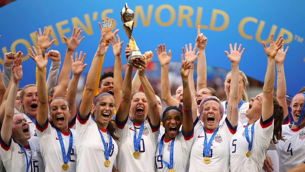 The USWNT came second to England in last year's SheBelieves Cup.