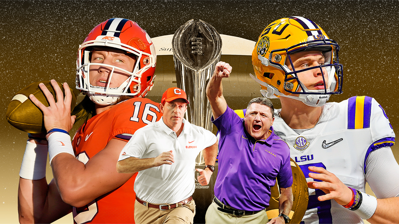 College Football Championship Lsu Clemson Analysis Prediction And More