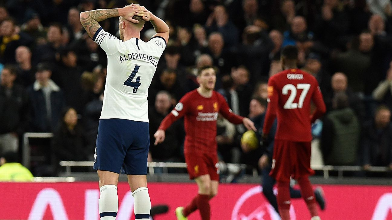 Liverpool's record-setting win shows Spurs just how far they have to go in Mourinho's rebuild - ENGLISH FOOTBALL 1