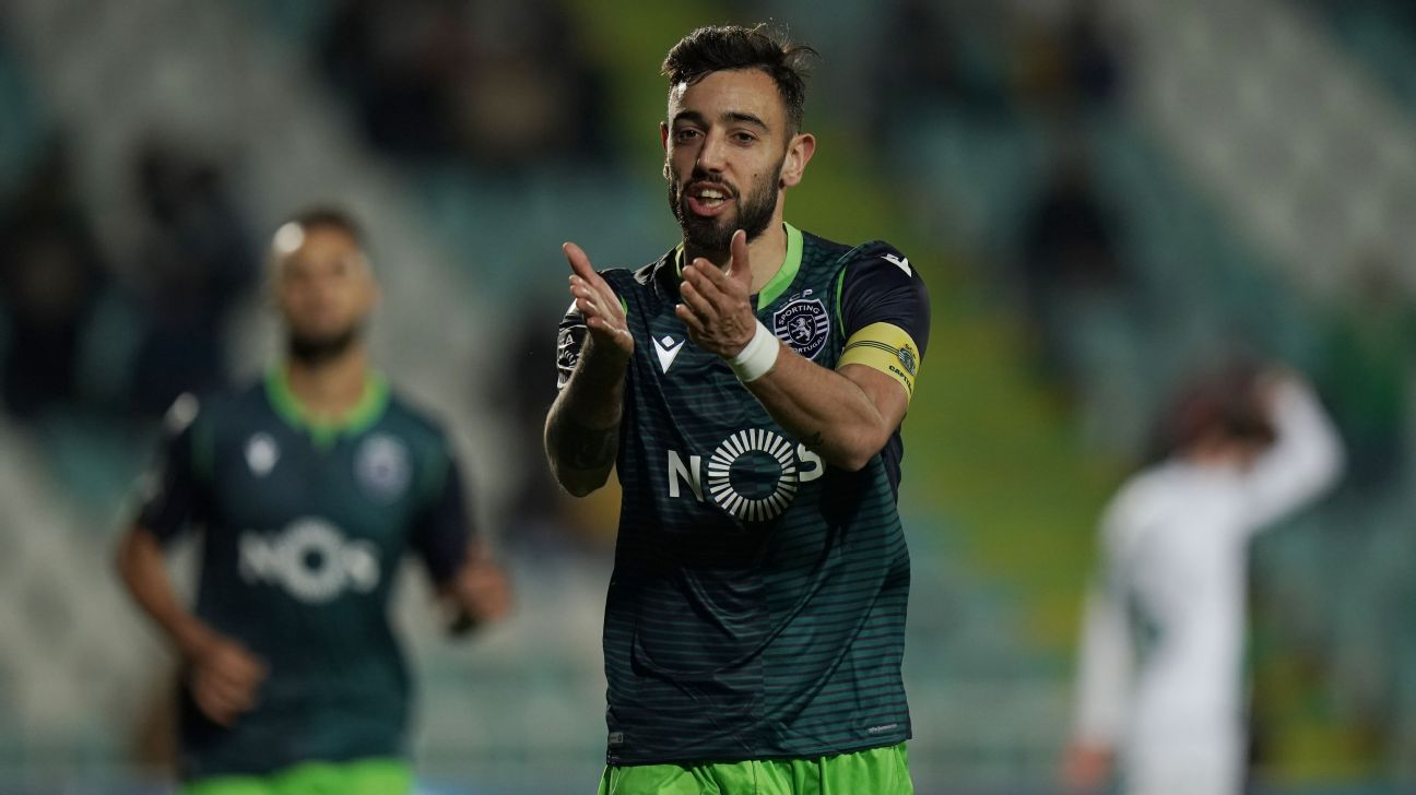 Man United and Sporting meet on Fernandes - sources - ENGLISH FOOTBALL 1