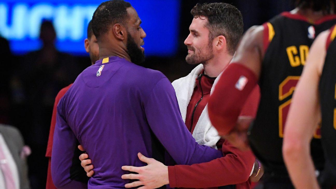 Kevin Love: Feels like LeBron's Lakers
