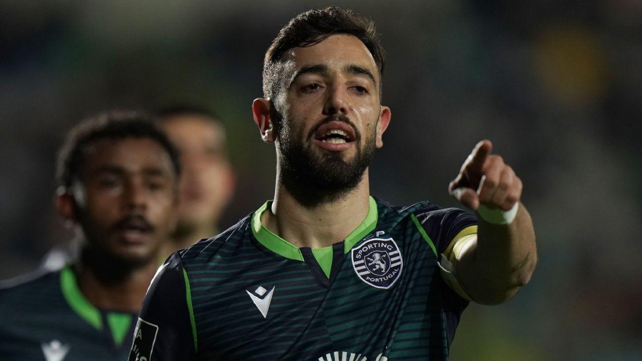 Bruno Fernandes, Sporting CP