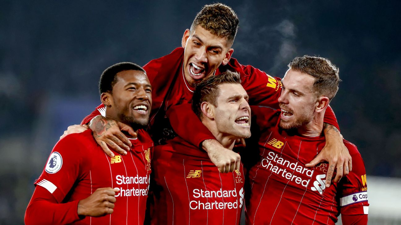 Will Liverpool be crowned champions of England this season for the first time since 1990?